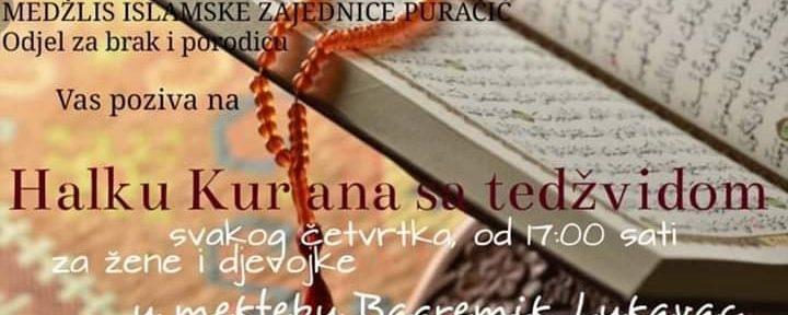 Halka Kur'ana sa tedžvidom za žene