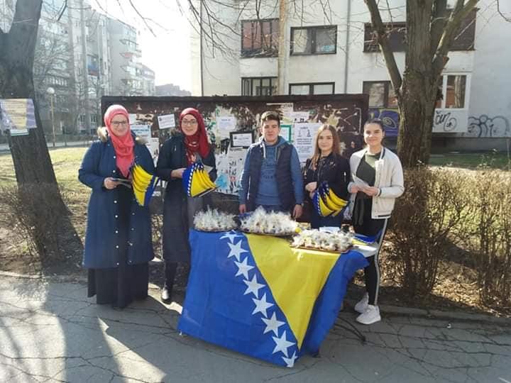 Voliš državu, istakni zastavu BiH !