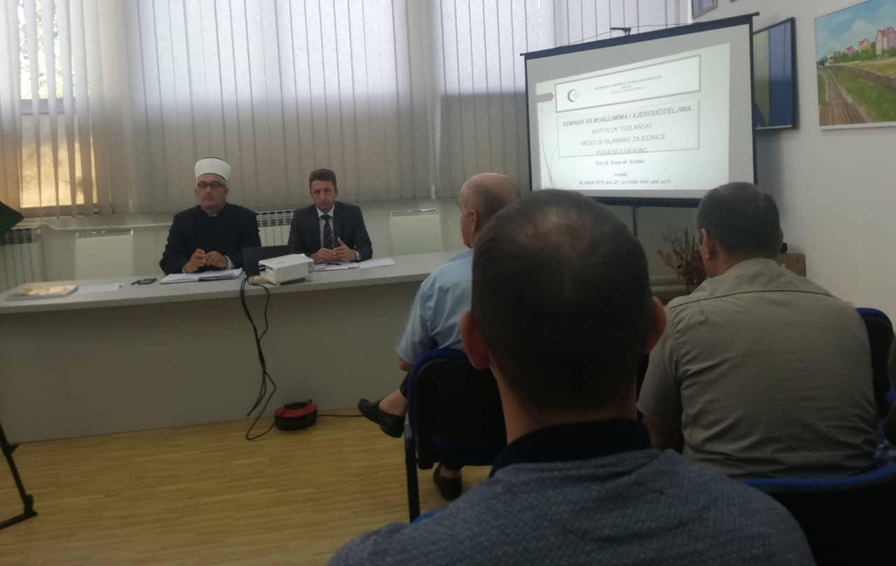 Održan seminar za imame i vjeroučitelje medžlisa IZ-e Puračić u Lukavcu